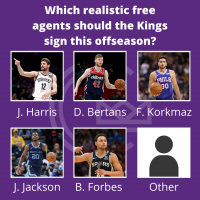 Who would you like to see play in Sacramento?