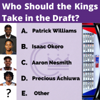 Who do you want the Kings to take in the draft?