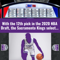 Who are the Kings going to draft?