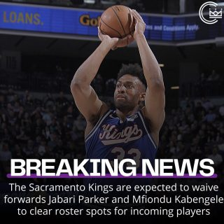 The Sacramento Kings are expected to waive forwards Jabari Parker and Mfiondu Kabengele to clear roster spots for incoming players  #sacramento #kings #sacramentoproud #sacramentokings #sactown #nba #basketball #sports #sportsblog #blogger #blog #nbabasketball #news