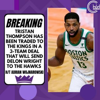 Tristan Thompson is a Sacramento King  #news