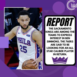 The Sacramento Kings will be in the mix for Ben Simmons this offseason. Who would you be willing to give up for the three time all star?  #sacramento #kings #sacramentoproud #sacramentokings #sactown #nba #basketball #sports #sportsblog #blogger #blog #nbabasketball #news #philly #philadelphia #76ers #sixers #philadelphia76ers #bensimmons