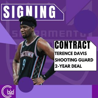 Terence Davis is staying in Sac on a 2-year, guaranteed deal! Contract details are still to come.  #sacramento #kings #sacramentoproud #sacramentokings #sactown #nba #basketball #sports #sportsblog #blogger #blog #nbabasketball #news