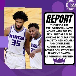 The Kings are looking to make moves. Who would you like to see the Kings target in a trade involving the 9th pick?  #sacramento #kings #sacramentoproud #sacramentokings #sactown #nba #basketball #sports #sportsblog #blogger #blog #nbabasketball #news