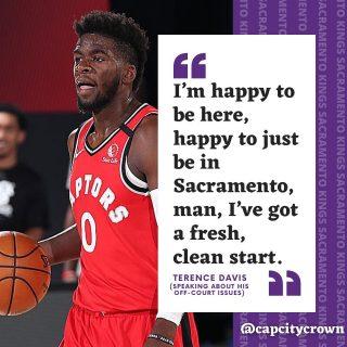 Terence Davis opens up about his off court issues.  #sacramento #kings #sacramentoproud #sacramentokings #sactown #nba #basketball #sports #sportsblog #blogger #blog #nbabasketball #news