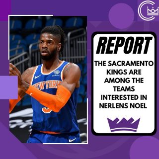 How would Kings fans feel about being Nerlens Noel to Sacramento?  #sacramento #kings #sacramentoproud #sacramentokings #sactown #nba #basketball #sports #sportsblog #blogger #blog #nbabasketball #news