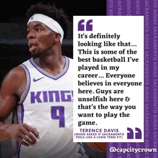 Who else wants to see @terencedavisjr stay in Sac?? Love this guy's play since coming to the Kings. The @sacramentokings need to keep him come the offseason.  #sacramento #kings #sacramentoproud #sacramentokings #sactown #nba #basketball #sports #sportsblog #blogger #blog #nbabasketball #news