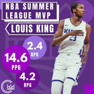 Louis Kings is your NBA Summer League MVP!  #sacramento #kings #sacramentoproud #sacramentokings #sactown #nba #basketball #sports #sportsblog #blogger #blog #nbabasketball #news