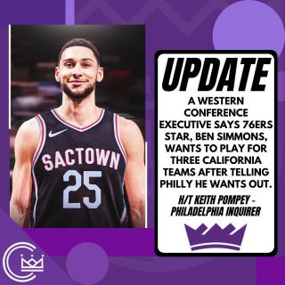 So let's count; there's 4 teams in California. Three playoff bound teams that  are title contenders and the Kings.  Still, maybe one of those three teams can be the Kings? 😅  #news