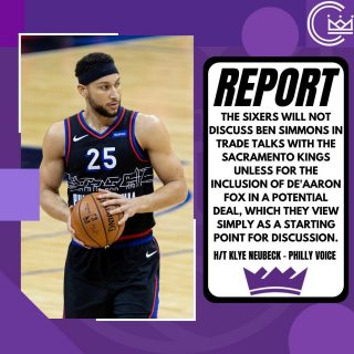 Looks like Simmons to Sac won't happen. No way Monte includes Fox in a deal. I would still love Simmons in Sac, but Fox is off limits.  #sacramento #kings #sacramentoproud #sacramentokings #sactown #nba #basketball #sports #sportsblog #blogger #blog #nbabasketball #philly #philadelphia #philadelphia76ers #76ers #sixers #bensimmons #deaaronfox #news