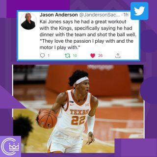 Who would like to see Kai Jones in Sac?  #sacramento #kings #sacramentoproud #sacramentokings #sactown #nba #basketball #sports #sportsblog #blogger #blog #nbabasketball #kaijones #news #nbadraft #draft