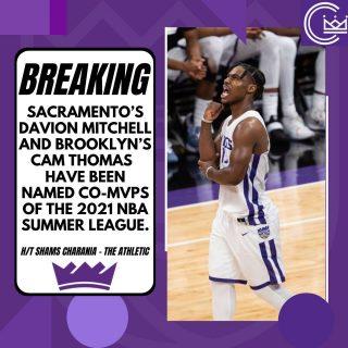 Congrats to Davion Mitchell for being named an MVP of Summer League!  #sacramento #kings #sacramentoproud #sacramentokings #sactown #nba #basketball #sports #sportsblog #blogger #blog #nbabasketball #news